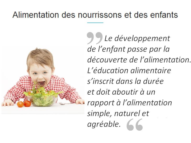 diététicienne pour enfant