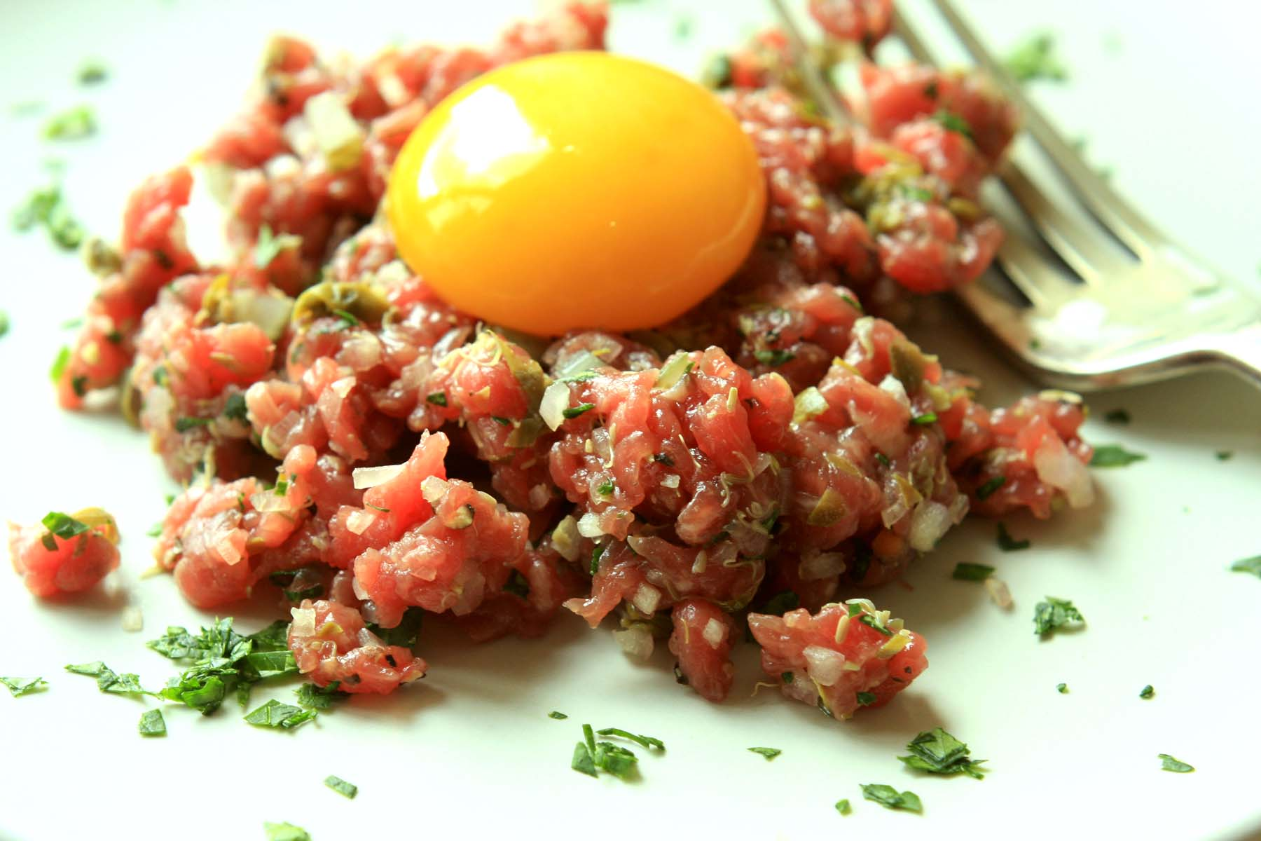 classic steak tartare steak tartare in the classic classic steak ...
