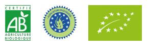 logos agriculture biologique
